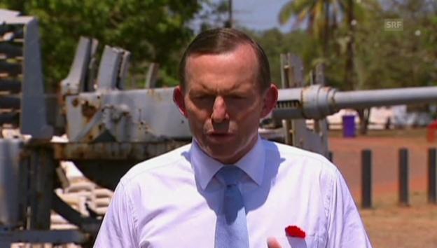 Video «Premier Tony Abbott über die Verdächtigen» abspielen