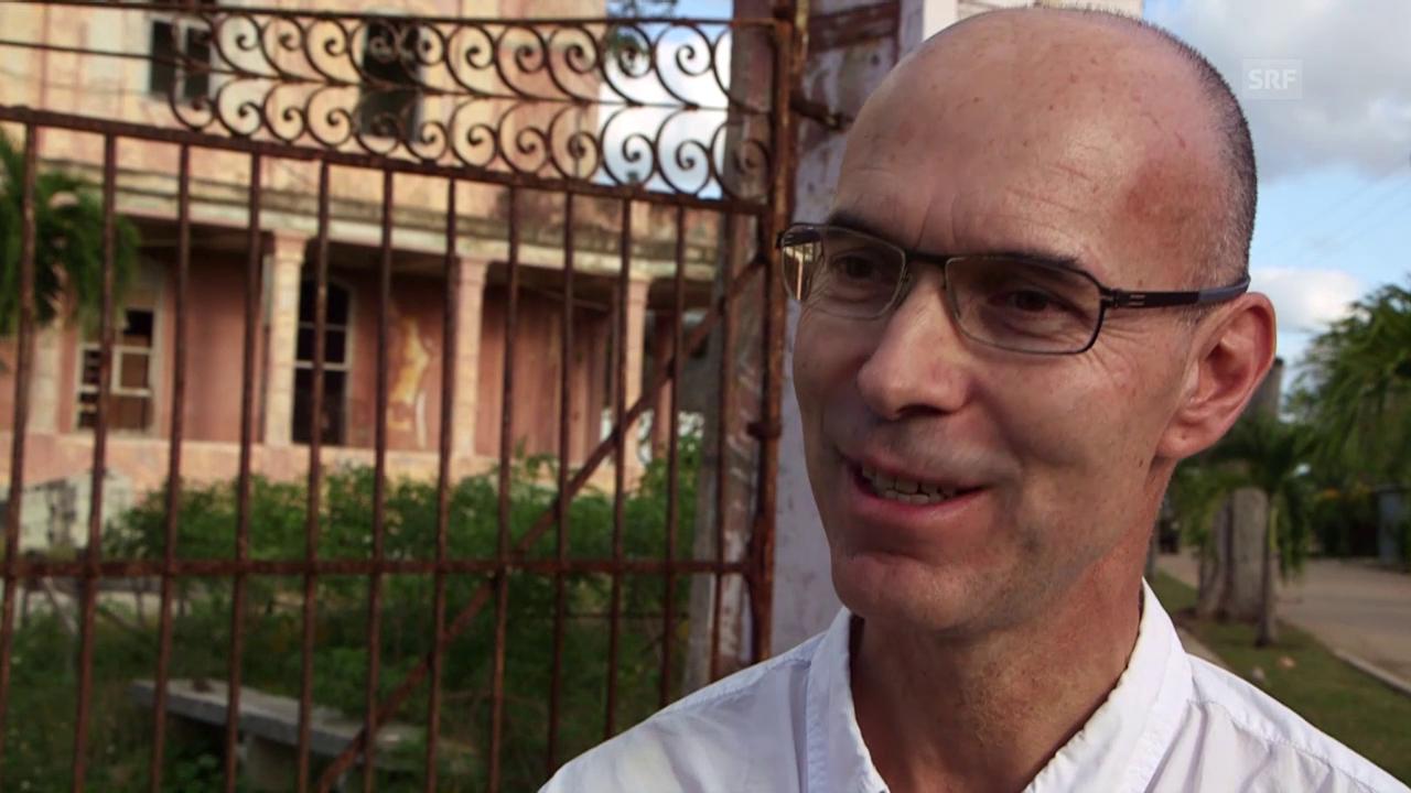 Reto Rüfenacht über Geschäfte in Kuba