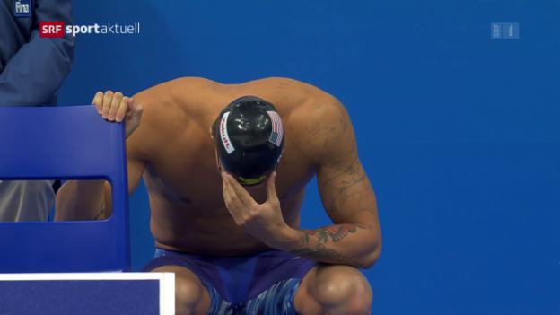 Video «Dressel lässt Erinnerungen an Phelps aufkommen» abspielen
