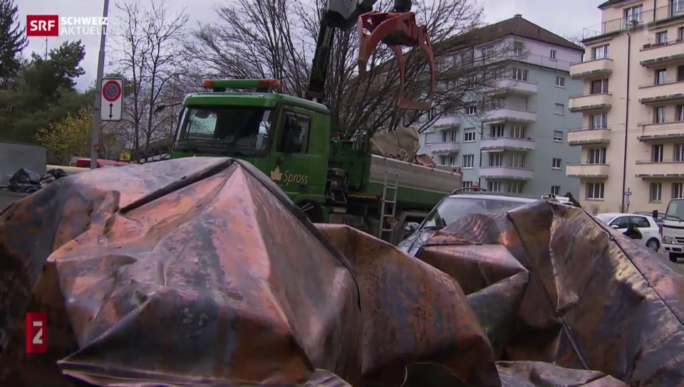 Sturm «Niklas» fegt übers Mittelland