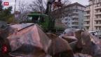 Video «Sturm «Niklas» fegt übers Mittelland» abspielen