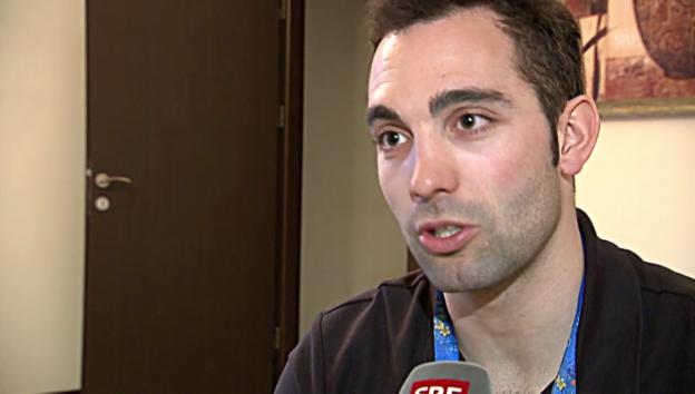Video «Gregory Carigiet will in Sotschi bleiben» abspielen