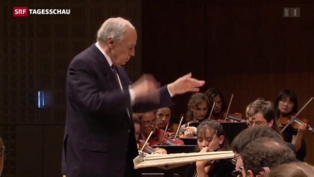 Video «Pierre Boulez ist tot» abspielen