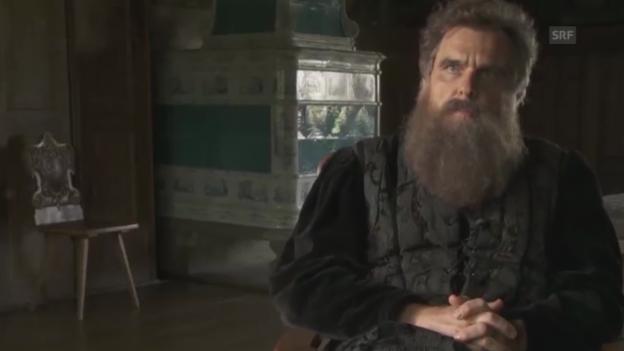 Video «Hans Waldmann im Interview, gespielt von Daniel Rohr» abspielen