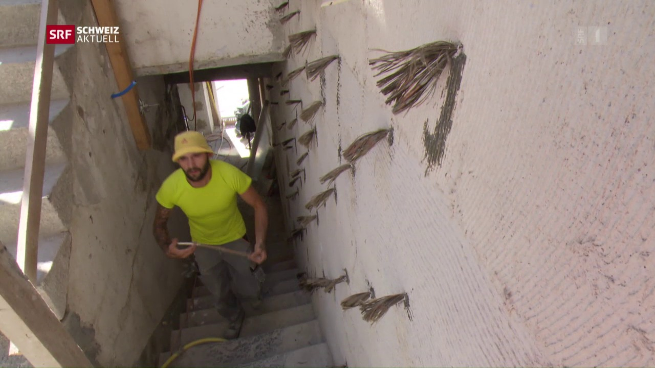 Teure Erdbeben-Sanierungen
