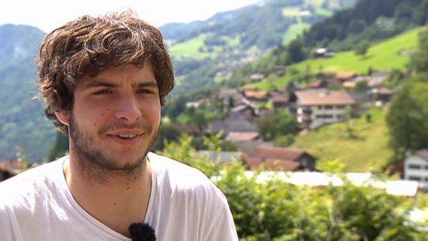 Video «Zu Besuch bei Robin Gansner» abspielen