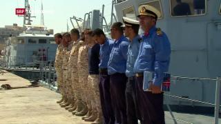 Video «Umstrittene Hilfe für libysche Küstenwache» abspielen