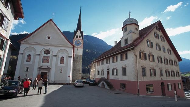 Glockengeläut der Kirche St. Martin, Trun