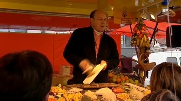 Video «Daniel Meiers Gemüsehobel: Porträt eines Marktschreiers» abspielen