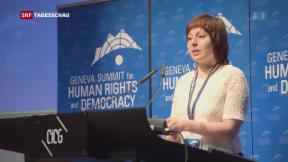 Video «Menschenrechte im Fokus» abspielen