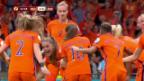 Video «Die Niederländerinnen jubeln, die Deutschen müssen warten» abspielen
