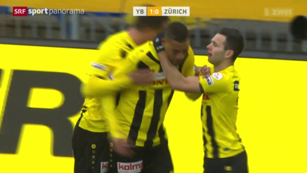 Video «Fussball: Super League, YB - Zürich» abspielen
