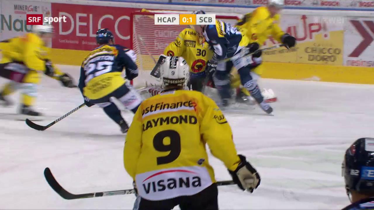 Eishockey: NL, Ambri - Bern