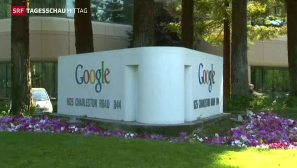 Konzernumbau bei Google