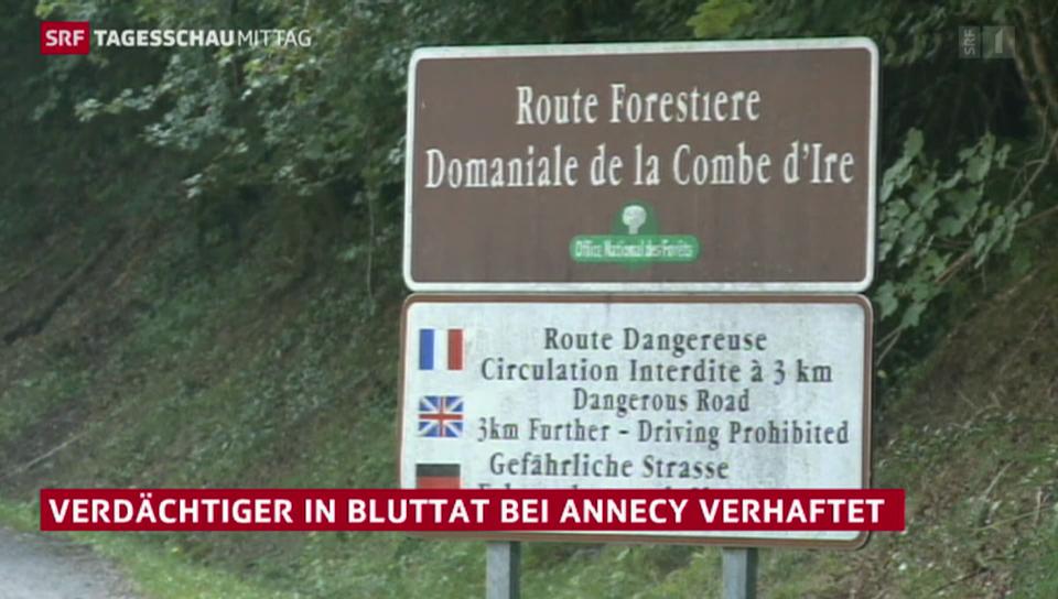 Festnahme im Mordfall von Annecy