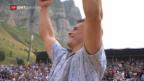 Video «Giger gewinnt auch sein 6. Fest des Jahres» abspielen