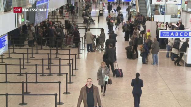 Video «Airlines sollen Behörden mehr Passagierdaten liefern» abspielen