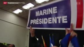 Video «Sieg für «Front National»» abspielen
