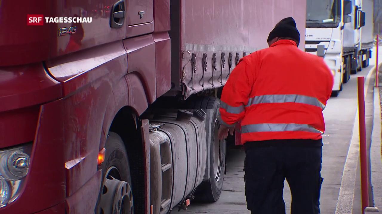 Kontrollen für Lastwagen
