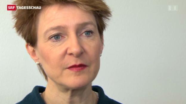 Video «Sommaruga zur Schweizer Flüchtlingspolitik.» abspielen