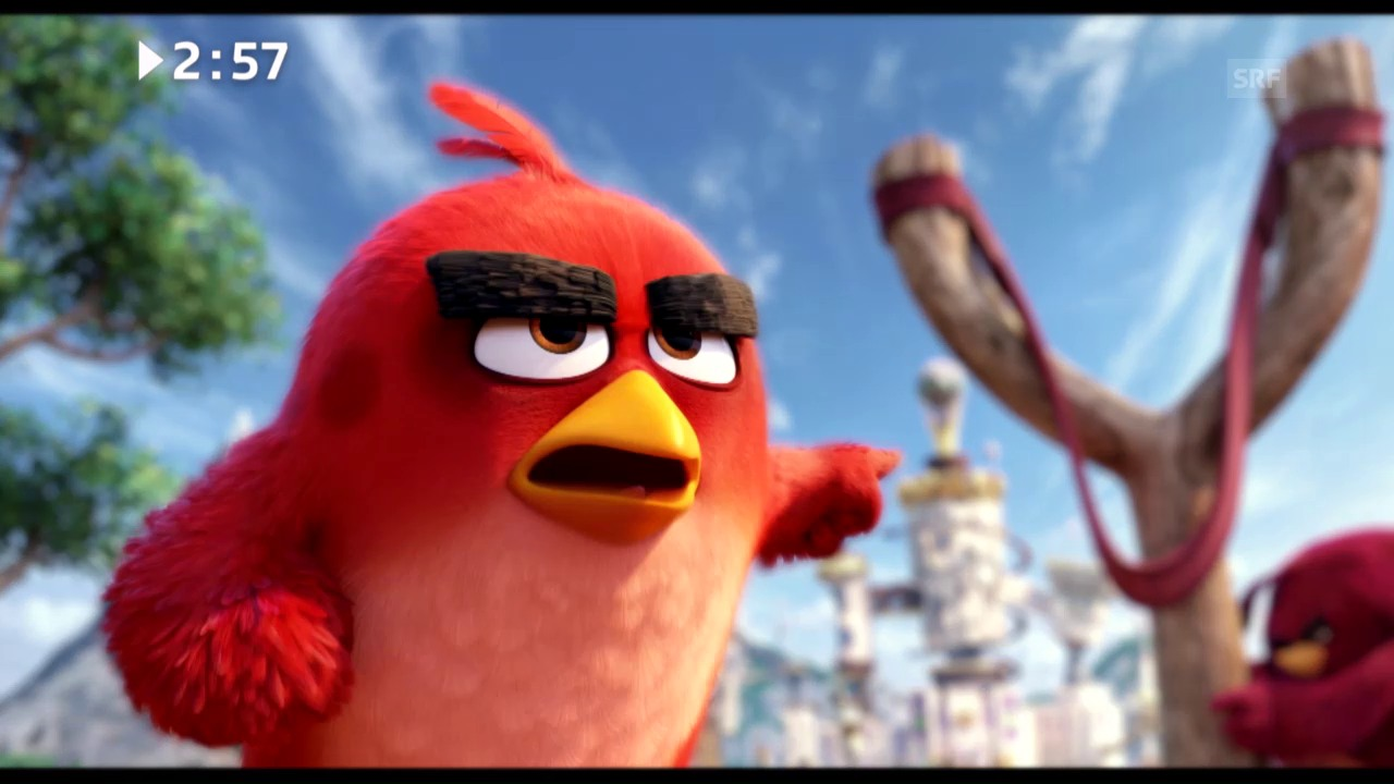 Filmstart diese Woche: «The Angry Birds Movie»