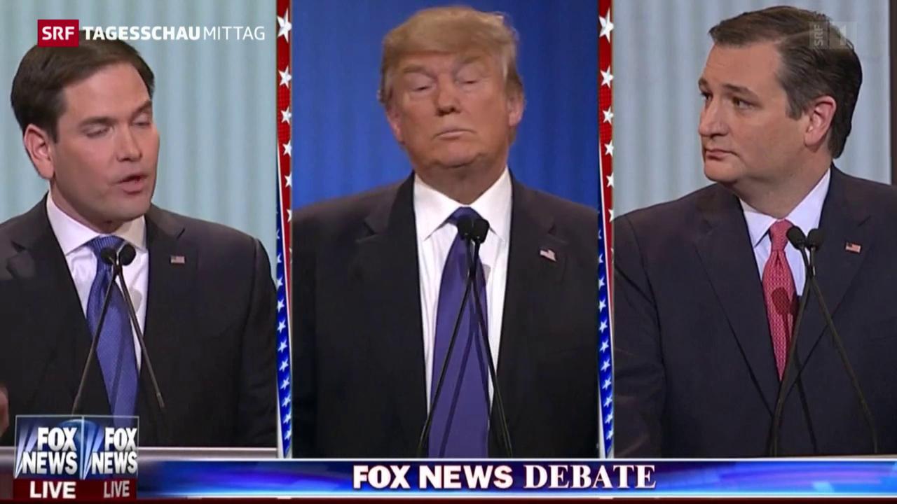 Republikaner gegen Trump