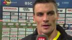 Video «Fussball: Stimmen zu YB - Basel» abspielen