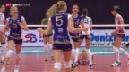Video «Volleyball: CL, Volero Zürich - Omsk («sportaktuell»)» abspielen