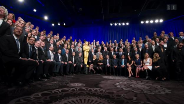 Video «Oscar-Vorfreude in Los Angeles» abspielen