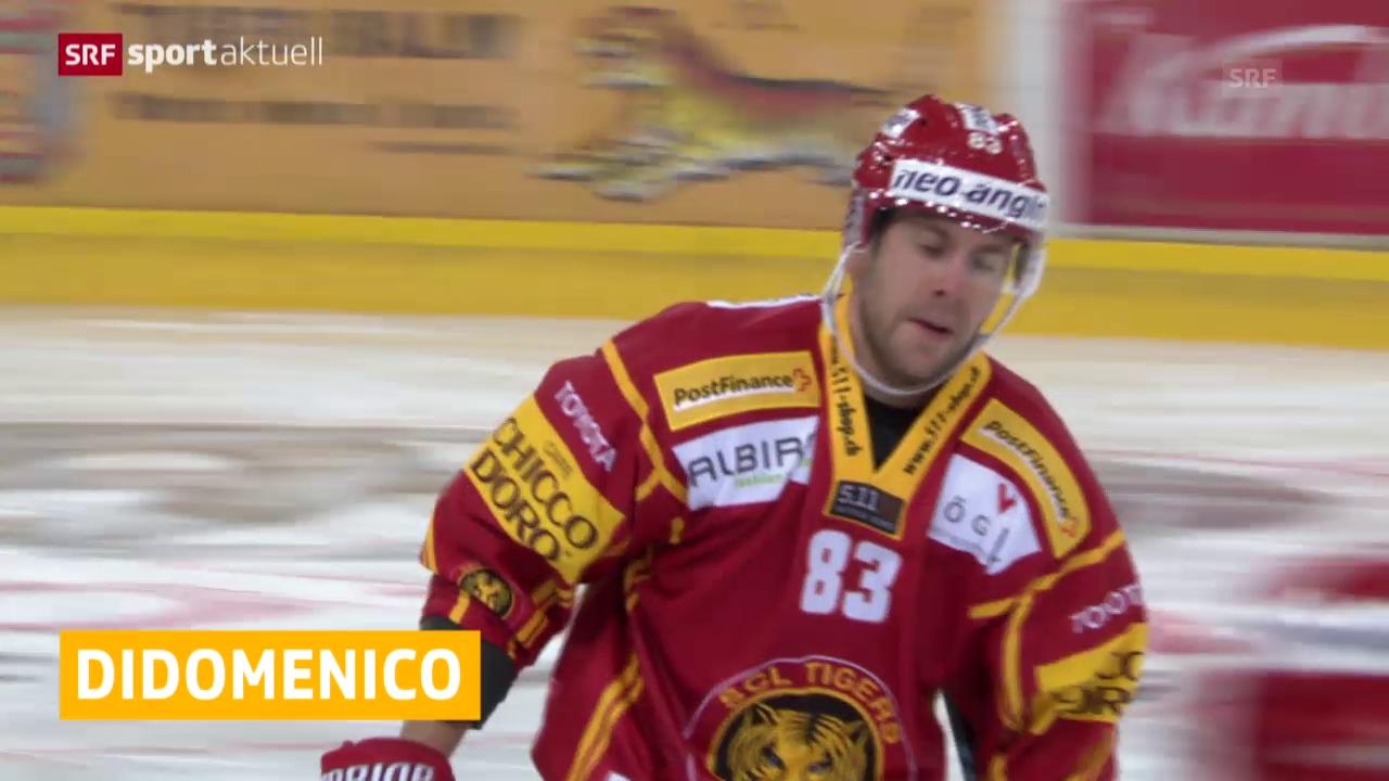 Eishockey: SCL Tigers verlängern mit Chris DiDomenico («sportaktuell»)