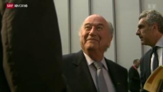 Video «Sepp Blatters Anzeige – reine Verzögerungstaktik?» abspielen
