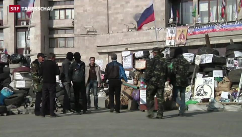 Keine Ruhe in Sicht in der Ukraine