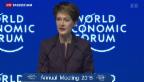 Video «WEF-Eröffnung in Davos» abspielen