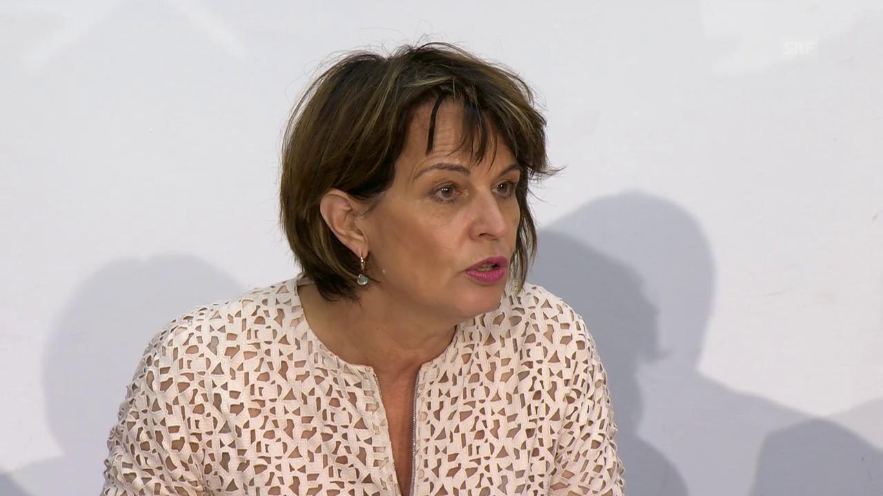 Leuthard :«Unentschuldbare Machenschaften der Postauto AG»