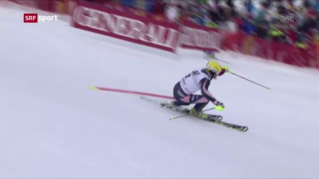 Video «Ski: Die letzte Hahnenkamm-Kombination («sportpanorama»)» abspielen