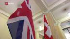 Video «Grossbritannien und die Schweiz besiegeln Handelsabkommen» abspielen