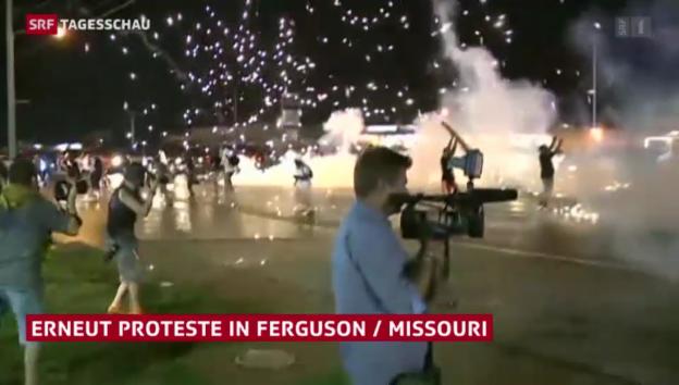 Video «Proteste in Ferguson» abspielen