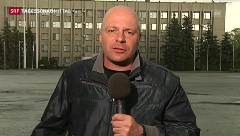 SRF Korrespondent Christoph Wanner