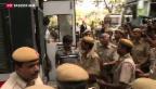 Video «TV-Interview mit Vergewaltiger soll in Indien verboten werden» abspielen