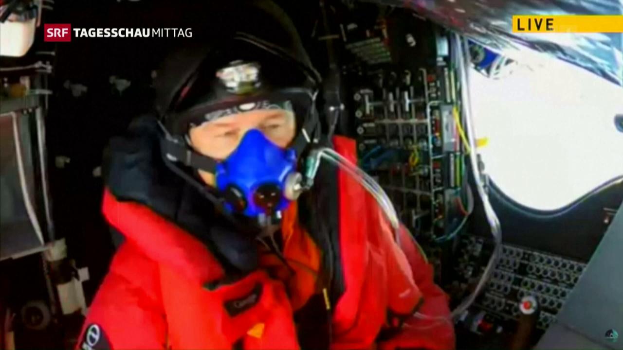 Solar Impulse auf der Zielgeraden
