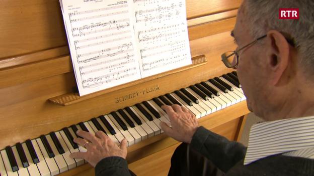 Laschar ir video «Gion Giusep Derungs - in dals pli impurtants cumponists rumantschs»