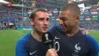 Video «Frankreich im Viertelfinal» abspielen