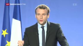 Video « Neuer französischer Präsidentschafts-Kandidat» abspielen