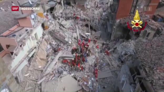 Video «Erdbeben im Apennin: Der Tag danach» abspielen