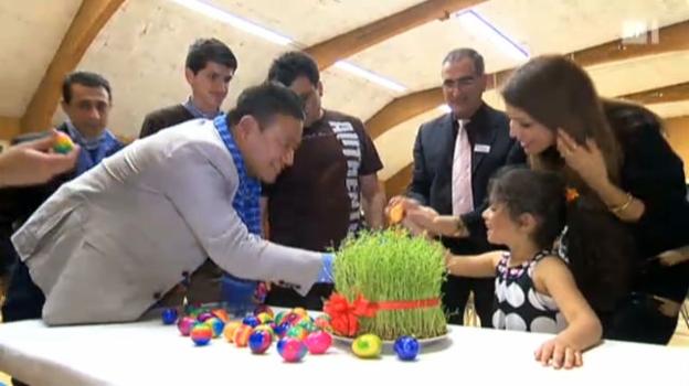 Video «Zum afghanischen Neujahrsfest Nauroz» abspielen