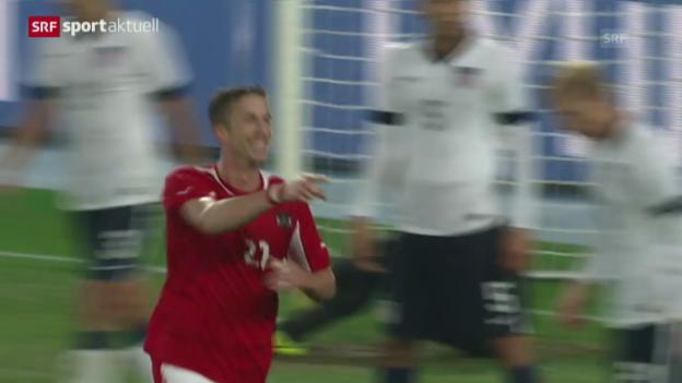 Video «Fussball: Österreich - USA» abspielen