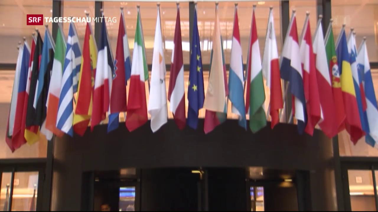 EU informiert Mitgliedstaaten: Keine Einigung mit der Schweiz