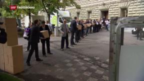 Video «Bundesrat will Inland-Bankgeheimnis nicht antasten» abspielen