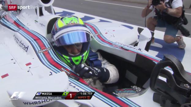Video «Formel 1: Qualifying GP von Österreich» abspielen