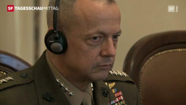 Video «Skandal um US-General John Allan» abspielen
